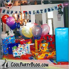 A Monsters Inc. Party theme