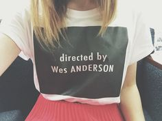 PRE-ORDER directed by Wes ANDERSON T-Shirt by beckyadairbyron