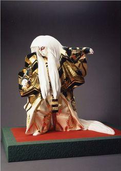 平櫛田中 鏡獅子(かがみじし) 1965(S40)年 木彫彩色 高58.0cm