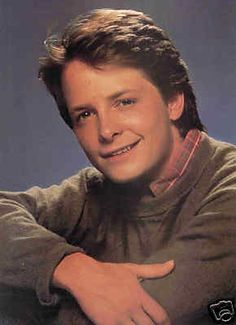 Michael J. Fox back in the days of Family Ties...what a cutie!