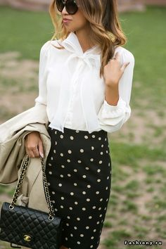 Блузка и рубашка в образах