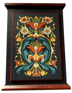 Rosemaling in the Rogaland Style