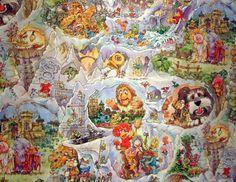 Fraggle Rock 80's Bedroom Wallpaper — The World of Kitsch