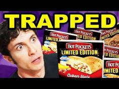 Tobuscus- Trapped in a Commercial: Hot Pockets. Why can't all commercials be like this???