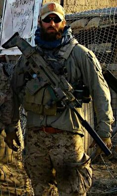 Special Forces operators beards