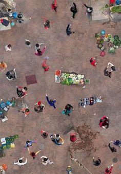 aerial photography by katrin korfmann Shanghai, 2013 Birds Eye View, Aerial Photography, Poster Photography, Art Plastique, Aerial View, Belle Photo, Shanghai, Collages, Illustration