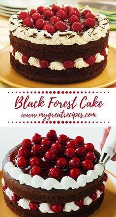 Elegant Black Forest Cake