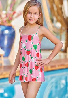 Adasea 5042 Kids Swimdress is one of the most stylish set of 2019 spring - summer collection Adasea 5042 Kids Swimdress details, Little Girl Swimsuits, Cute Little Girl Dresses, Cute Young Girl, Beautiful Little Girls, Preteen Girls Fashion, Young Girl Fashion, Kids Outfits Girls, Cute Girl Outfits, Adorable Petite Fille