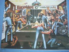 HARLEY DAVIDSON Easy Rider 10th Anniversary Motorcycle 16x20 Poster