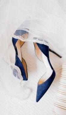 59 Ideas Wedding Shoes Blue Heels Jimmy Choo For 2019 – Wedding Shoes Navy Blue Wedding Shoes, Wedding Heels, Wedding Blue, Spring Wedding, Trendy Wedding, Blue Weddings, Blue Bridal, Christmas Wedding, Lace Wedding