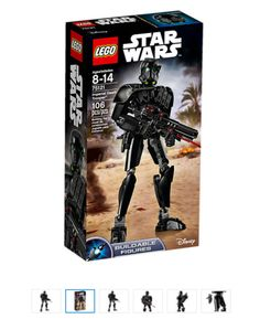 STAR WARS LEGO IMPERIAL DEATH TROOPER SET 75121 BUILDABLE FIGURE NEW L@@K