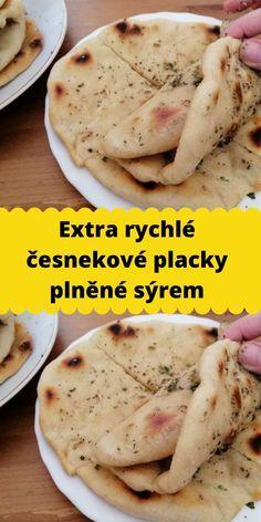 Raw Food Recipes, Cooking Recipes, Healthy Recipes, Slovak Recipes, Good Food, Yummy Food, Pitta, Nutella, A Table