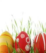 Great Ideas for All Aged Easter Egg Hunts: Assign different age groups to a color and have them find only that color egg -- this helps the younger kids have a chance at grabbing eggs, or have children turn in their empty eggs to receive a goodie bag, that way everyone gets the same treats!