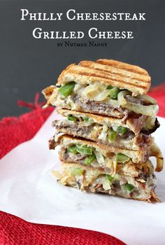 Same great Philly flavor, easier to eat. Get the recipe from Nutmeg Nanny. - Delish.com
