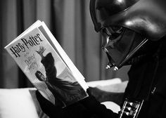 From a fan. Lord Vader wept when Voldemort died.