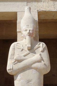 Queen Hatshepsut, Mortuary Temple of Queen Hatshepsut, Luxor, Egypt ...