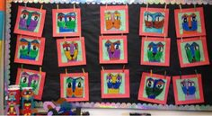 Love these Laurel Burch cats!  From artrageousafternoon.blogspot.com