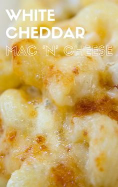 On The Chew, Carla Hall shared a recipe for show stopping White Cheddar Macaroni and Cheese. This Mac 'n' Cheese recipe is too good to pass up!