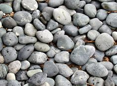 Pebbles - reminds me of the beach!