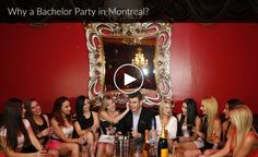 Montreal bachelor party planning ideas, guides hotels and travel packages for your parties