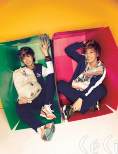 Young Min and Jeong Min - Ceci Magazine