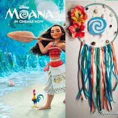 CUSTOM ORDER  Disney's Moana Inspired Dream Catcher #disney #disneydecor #disneydreamcatcher #moana #disneysmoana #moanadecor #moana #moanamovie #moanadreamcatcher #moanadisney
