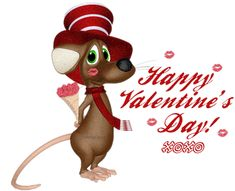 py Valentine Day Wishes SMS With Animated Image!