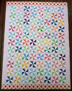Pinwheels on Parade Quilt Pattern (PDF File) - Immediate Download. $8.50, via Etsy.