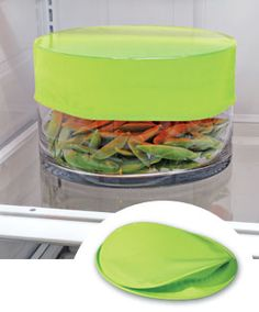 Stretchy Bowl Covers - so much easier than Saran wrap    GIMME!!