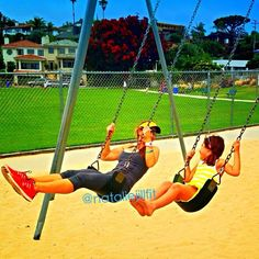 """When is the last time you swang on a swing set? Or even just played? It's so great to learn from our kids! Amazing how fun being ACTIVE and """"in the moment"""" can be... http://nataliejillfitness.com/  #fitness #workout #exercise #fatloss  #weightloss #core #abs  #nataliejillfit #nataliejill #exerciseplan #workoutplan  #commited #goals #changeyourbody #motivated #motivation -  You have one body, care it!"""