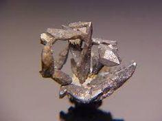 Hessite.Colour:lead-grey, steel-grey.Type Locality:Koz'modem'yanskii shaft, Second Zavodinskii Mine (Second Sawodinsk Mine), Zyryanovsk Rayon, Altai Mts (Rudnyi Altai), Eastern Kazakhstan Province (Shyghys Qazaqstan Oblysy; Vostochno-Kazakhstanskaya Oblast'), Kazakhsta.