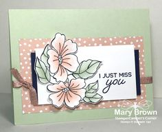 stampercamper.com -CCMC518 - Absolutely LOVIN' this new limited edition set from Stampin' UP! This is for the cool sketch for the Create with Connie and Mary Thursday Challenge. All the details on my blog. Set: Blended Seasons