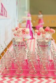 Dozen Flours: Ava's Cheerleading Birthday Party