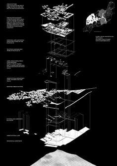 architecture axonometric diagram _ 01.-Axonometric.-Strata.jpg (707×1000)