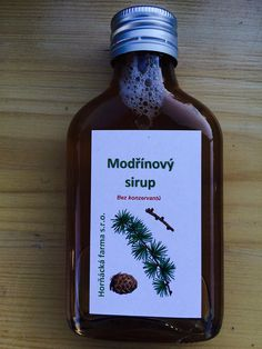 Modřínový sirup Whiskey Bottle, Smoothies, Healthy Recipes, Homemade, Food And Drink, Drinks, Syrup, Smoothie, Health Recipes