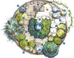 Florida Meditation Garden Plan | HGTV