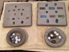 Use the basics of making a concrete stepping stone to form a quikrete tic-tac-toe board, fit for your outdoor playground. What QUIKRETE projects will you bring to life for your outdoor living space? Cement Design, Toe Board, Concrete Stepping Stones, Modern Colonial, Backyard Playground, Tic Tac, Household Items, Outdoor Living, Living Spaces
