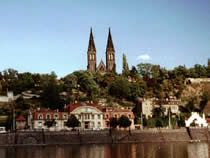 Vysehrad Park, Prague, Czech Rep. A quiet and peaceful park away from the city center, full of history and charm.