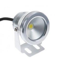 LED PROJEKTØR 10W, 100% VANDTÆT - VARM HVID, 700 LUMEN http://mrperfect.dk/led-projektor/478-led-projektor-10w-100-vandtaet-svarer-til-120w-halogen.html