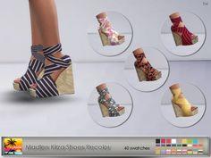 Elfdor: Madlen Kirza Shoes Recolor • Sims 4 Downloads