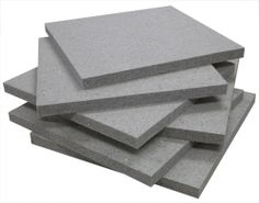 Natural eco-C-tex soundproof ceiling insulation offset stack