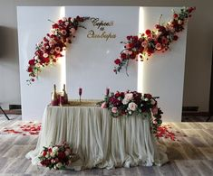 Fotos de Natalia Vesna Wedding Backdrop Design, Wedding Stage Design, Wedding Reception Backdrop, Wedding Stage Decorations, Backdrop Decorations, Ceremony Backdrop, Wedding Centerpieces, Wedding Designs, Wedding Table