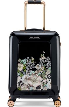 TED BAKER Small Four-Wheel Suitcase. #tedbaker #