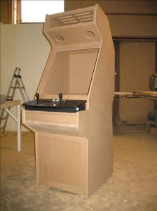 Fully CNC-machined cab from Finland  http://forum.arcadecontrols.com/