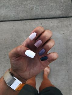 In search for some nail designs and some ideas for your nails? Listed here is our set of must-try coffin acrylic nails for modern women. Simple Acrylic Nails, Pastel Nails, Best Acrylic Nails, Simple Nails, Summer Acrylic Nails, Aycrlic Nails, Coffin Nails, Fire Nails, Nagel Gel