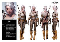 Ciri cosplay costume
