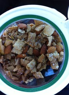 Apple Cinnamon Fruity Snack Mix    Thank you Chex-Mix for being gluten free and delicious
