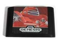 Sega Genesis Cyberball Video Game Cartridge 1990 by Sega Mega Drive, Sega Genesis, Consoles, Robot, Video Game, My Etsy Shop, Football, Retro, Games