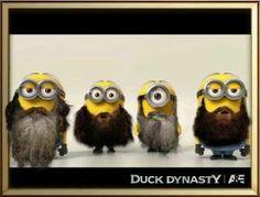 #humor #Minions #Funny Minions - Duck Dynasty