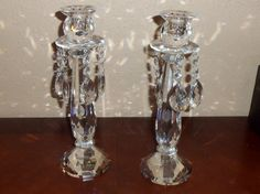 Lighting By Design Candle Holders, Set Of 2 Old Vienna Candlesticks - 15679